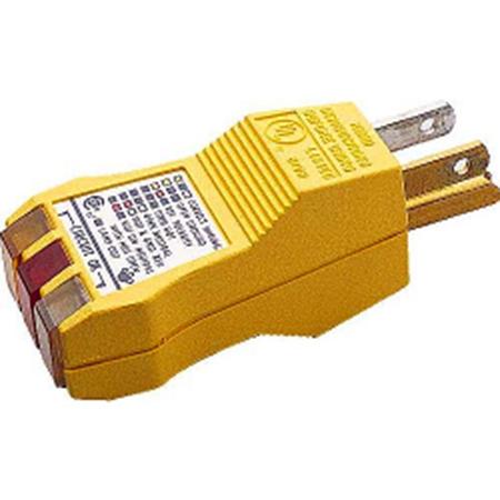 Imagem do Produto Profiber: Testador de Tomadas Tripolares E-Z Check