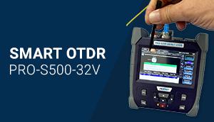 Imagem Destaque da Notícia Profiber: Lançamento do OTDR SM SMART-PRO-S500